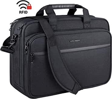 "KROSER 18"" Laptop Bag Premium Laptop Shoulder Messenger Bag"