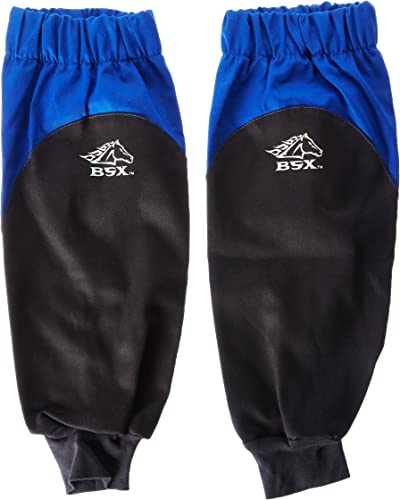 lowest Revco BX9-19S-RB online sale BSX online Reinforced Fire Resistant Sleeves, Royal Blue/Black (One Pair) outlet online sale