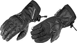 Firstgear Navigator Men's Motorcycle Gloves (Black, Large)