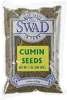 Great Bazaar Swad Cumin Seeds, 7 Ounce