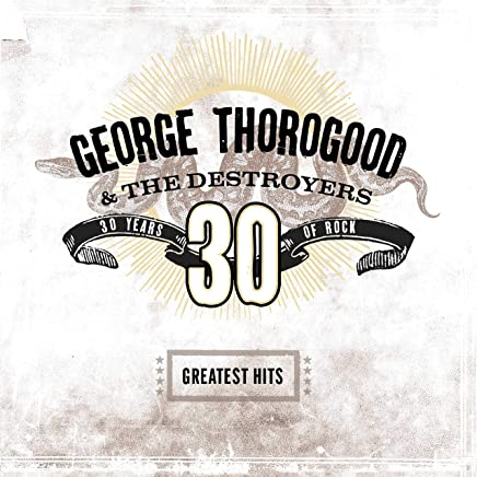 George Thorogood & The Destroyers - Greatest Hits: 30 Years of Rock Transparent Brown (2019) LEAK ALBUM