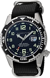 Men Dive Series Quartz Sports Watch - M50 Series | Water Resistant, Easy to Read Dial, Date, Screw Crown, Stainless Steel Case