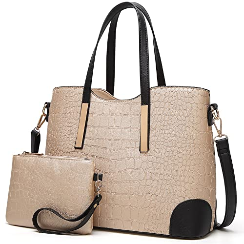 627477c7f493 YNIQUE Satchel Purses and Handbags for Women Shoulder Tote Bags Wallets