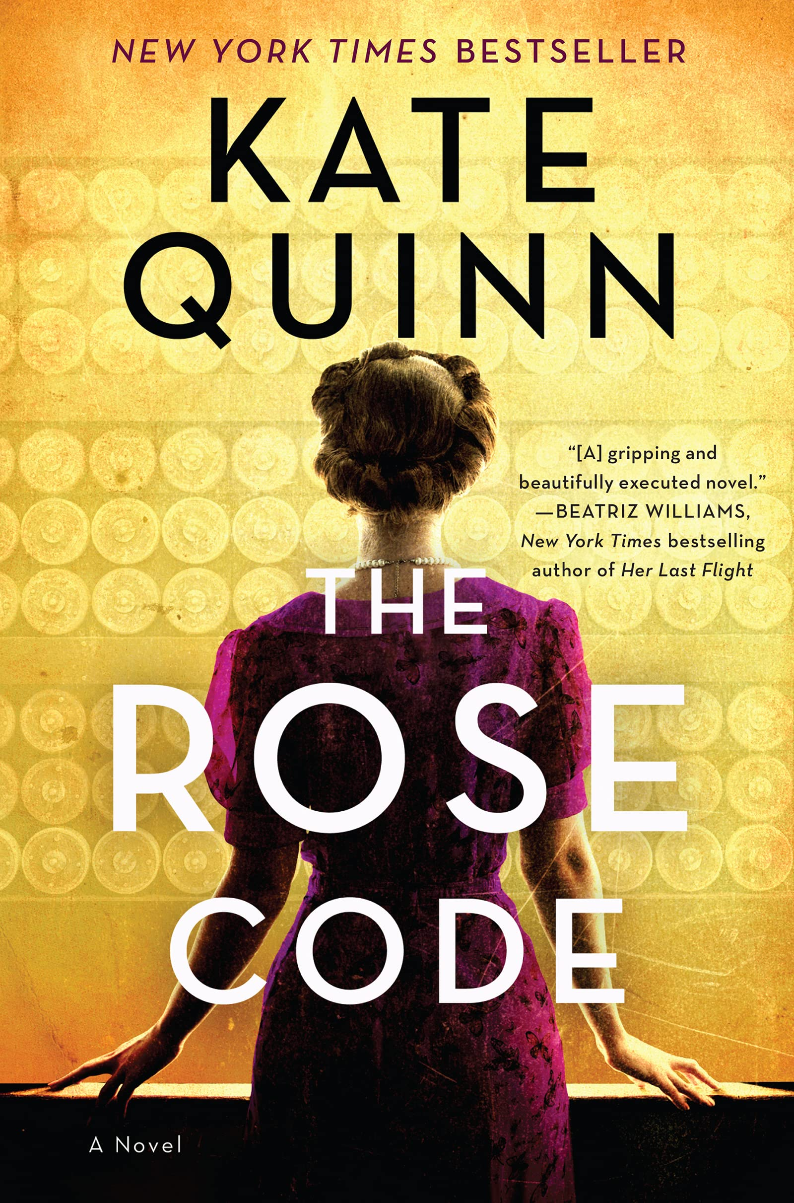 Cover image of The Rose Code by Kate Quinn