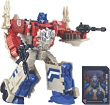 Transformers Generations Leader Powermaster Optimus Prime Action Figure (Discontinued by manufacturer)