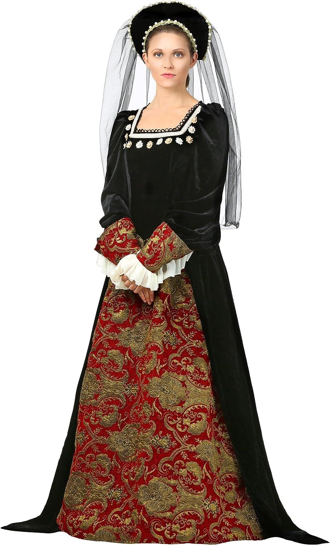 aquí tiene la última Wohombres Anne Boleyn Boleyn Boleyn Fancy Dress Costume Medium  conveniente