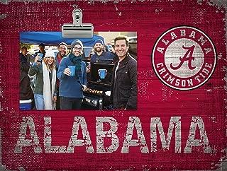 Fan Creations NCAA Alabama Crimson Tide Team Name Clip-It Photo Frame