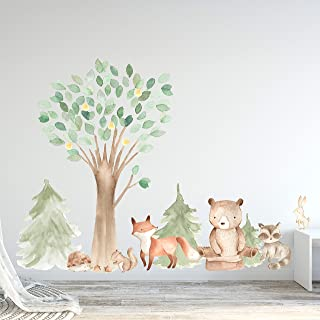 Mej Mej Flying Fox Fabric Wall Decal Woodland