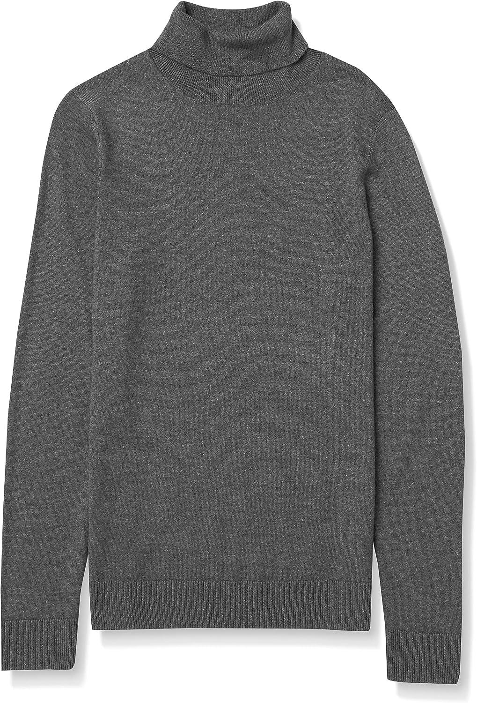 Amazon Essentials Women's Classic Fit Lightweight Long-Sleeve Turtleneck Sweater