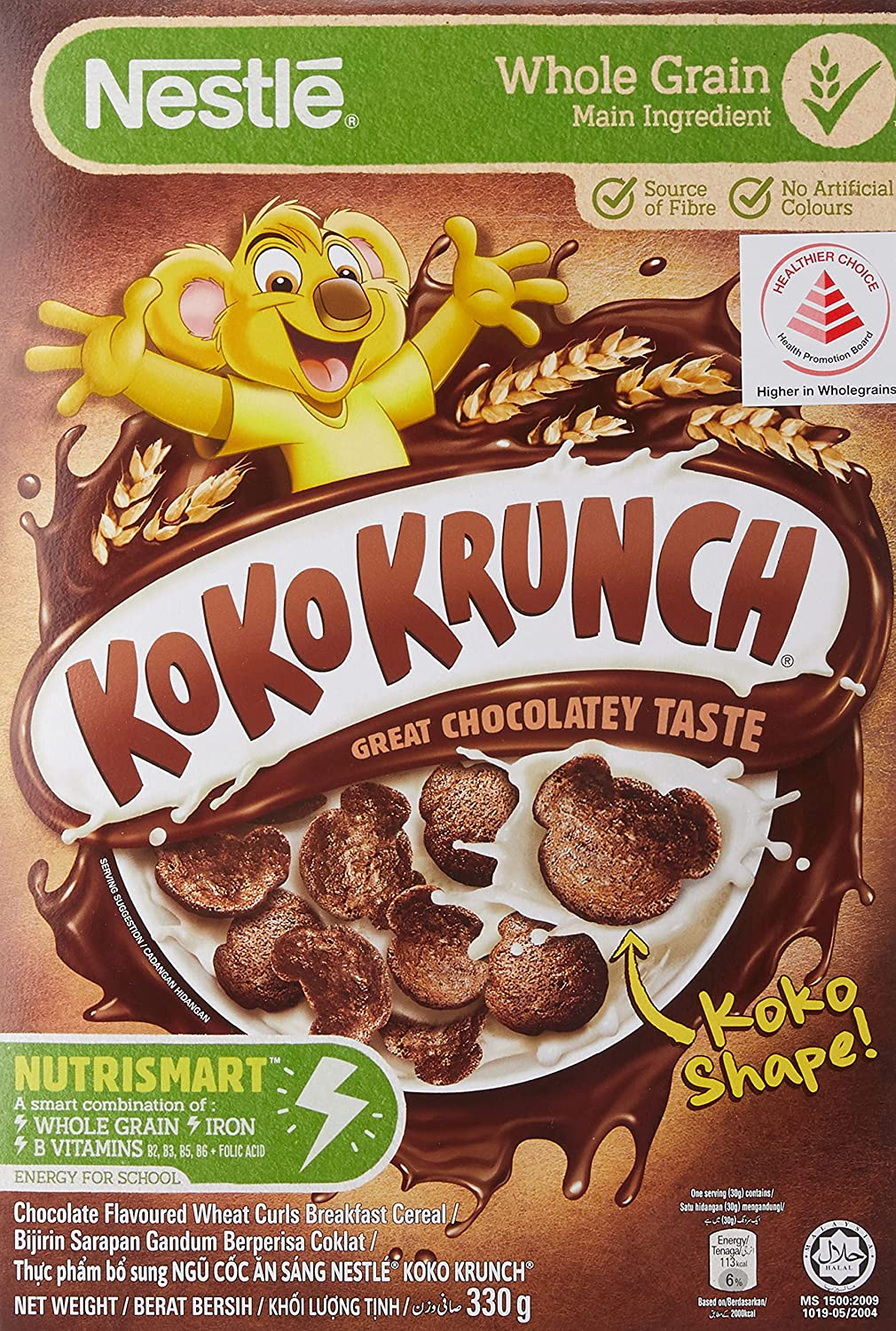 NESTLE KOKO KRUNCH Breakfast Cereal Whole NEW before selling - Milwaukee Mall Recipe Healthy New