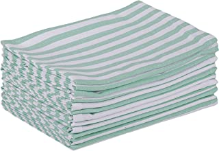 DG Collections Cotton Kitchen Cloth Napkins set of 12 pack (20x20 Inches), Hemmed with Mitered corners, Decorative reusable Napkins, Over Sized Perfect for Weddings, Dinner parties & Every day use