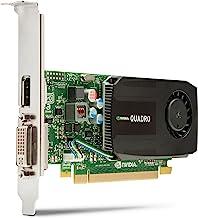 HP C2J92AA NVIDIA Kepler GK 107 GPU con 192 núcleos de CUDA 1GB - Tarjeta gráfica (NVIDIA, Quadro K600, 3840 x 2160 Pixeles, 1 GB, DDR3-SDRAM, 128 Bit)