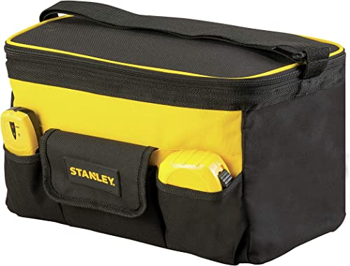 Stanley STST1-73615 Sac À Outils en Polyester - 34 x 21 x 24 cm - multi Poches - Poche Avant Refermable - Toile Très ...