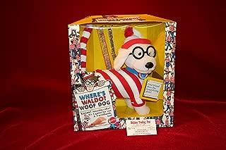 Where's Waldo WOOF DOG DOLL PLUSH w/Magnifying Glass