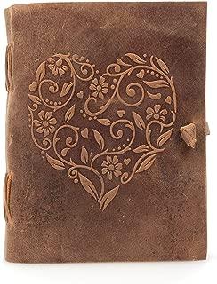 leather journal handmade paper