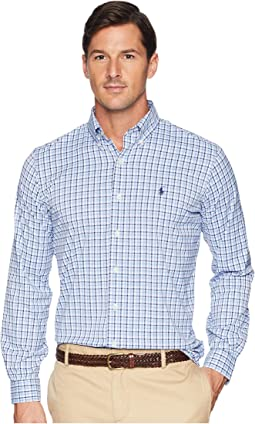 Classic Fit Performance Woven Sports Shirt