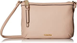 Calvin Klein Small Pebble Leather Crossbody