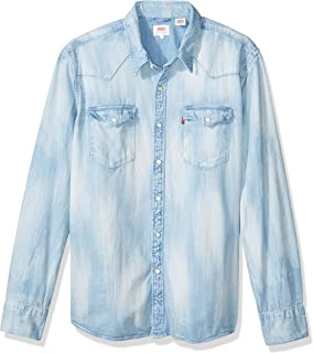 Camisa Jeans Levis Masculino Barstow Western Clara