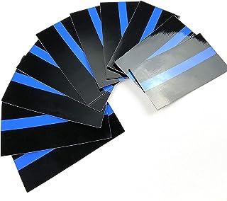 polizeimemesshop Thin Blue Line Sticker Aufkleber 10er Pack