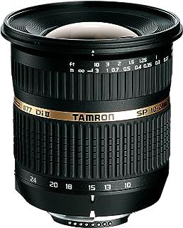 Tamron B001S SP AF 10-24/3.5-4.5 Di II LD ASL (IF) - Objetivo para Sony/Minolta (Distancia Focal 10-24 mm Apertura f/3.5-45 Macro diámetro: 77 mm) Negro