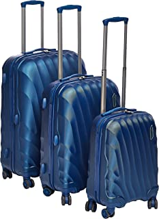 Titan Hardside spinner luggage set of 3pieces expandable with 3 digit number Lock