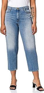 Pinko Flexi Maddie MOM PJ439 Jeans, G14_BLU-porcellana DELF, 30 para Mujer