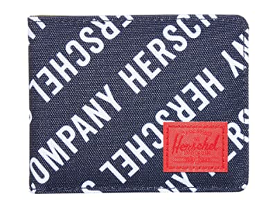 Herschel Supply Co. Roy RFID (Roll Call Peacoat/Woodland Camo) Wallet Handbags