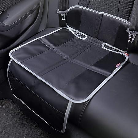 Petex 44499904 Kindersitzunterlage Autositzauflage Schwarz Baby