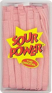 Sour Power Candy Belts, Pink Lemonade, 42.3 Ounce