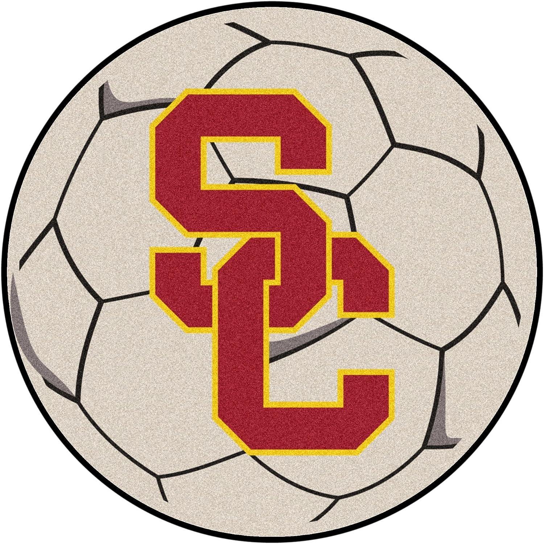 Fanmats USC Trojans Soccer BallShaped Mats