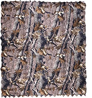 Koei ZAKA Woodland Camo Netting 300D Camping Military Hunting Camouflage Net, Perfect Camonetting for Camping Shooting Hunting