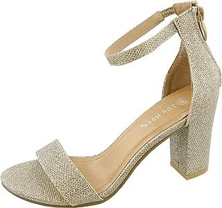 Women's Hannah-1 Ankle Strap High Heel Sandal