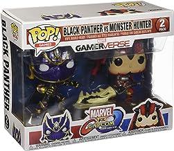 Marvel Pack Pop Vs Capcom: Infinite - 2 Figuras Black Panther Vs Monster Hunter
