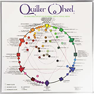 stephen quiller color wheel palette