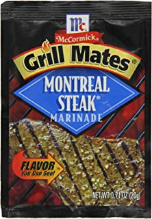 McCormick Grill Mates Seasoning Mix, Montreal Steak Marinade, 0.71 oz