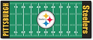 Best steelers football field rug Reviews