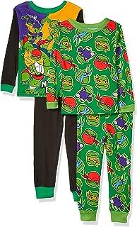 Boys' Teenage Mutant Ninja Turtles 4-Piece Cotton Pajama Set