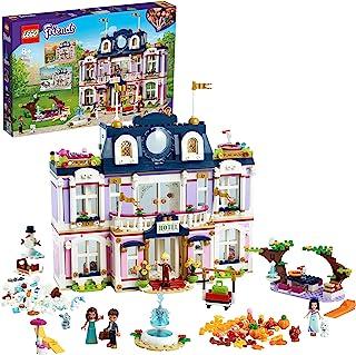 LEGO Friends 41684 Wielki hotel w mieście Heartlake; w komplecie minilaleczki Emma, Stephanie, River i Amelia (1308 elemen...