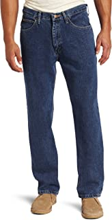 Men's Relaxed Fit Straight Leg Jean Pants