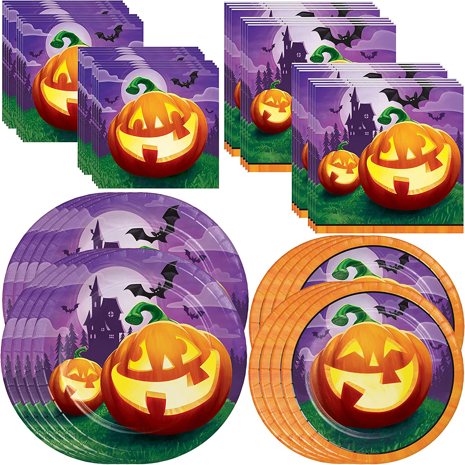 Grinning Halloween Pumpkins Party by Creative Converting