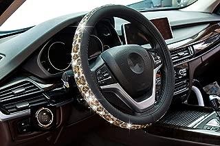 Best crystal steering wheel cover Reviews