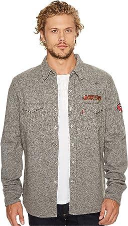 Levi's® Mens - 49ers NFL Western Sweatshirt