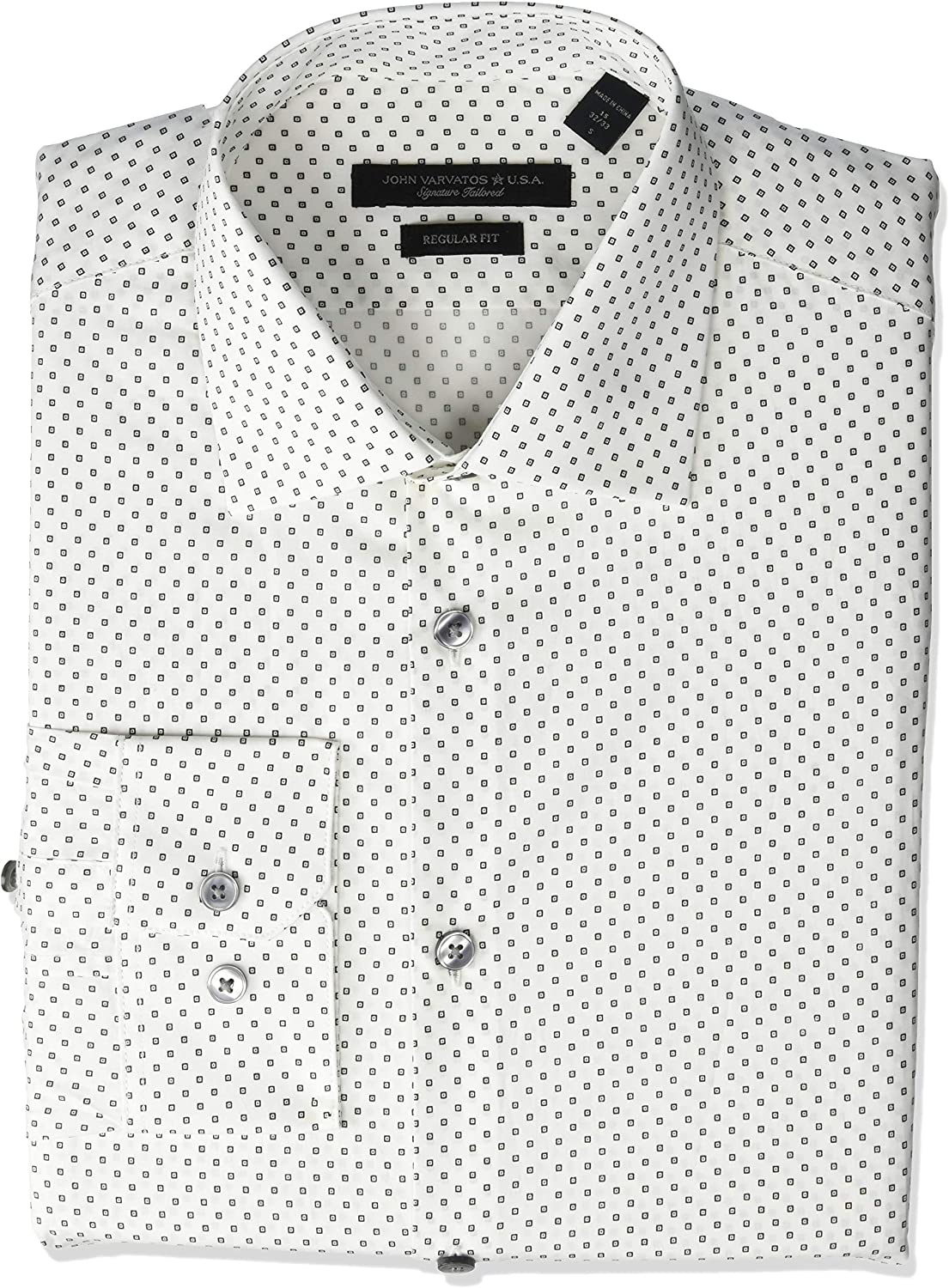 John Varvatos Star USA All items in the store Men's Columbus Mall Aaron Fit Regular Sleeve Butto Long