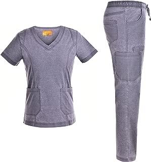 Stretch Nursing Medical Uniform Scrub Set - Nursing Women Scrubs JS1604