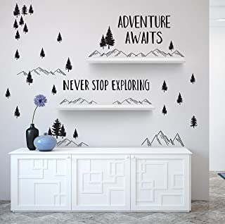 Better Than Paint | Adventure Awaits | Wall Art Transfers | Fast & Easy