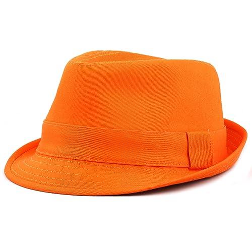 THE HAT DEPOT 1400f 2093 100% Cotton Paisley Lining Premium Quality Fedora  Hat 97db07144ba
