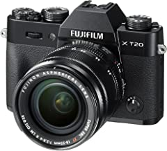 Fujifilm X-T20-24.3 MP Mirrorless Digital Camera with XF 18-55mm F2.8-4 R LM OIS Lens, Black