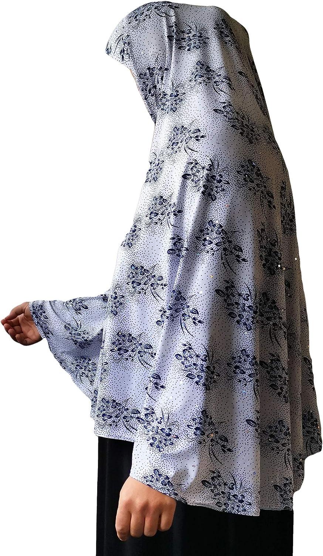 XL Hijab Amira Headscarf for Muslimah one Piece Stretchy Scarf Lycra Islamic Prayer Muslim Shawls