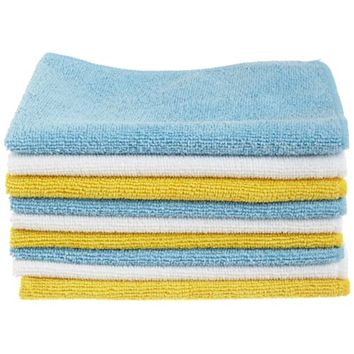 AmazonBasics Microfibre Cleaning Cloths Pack of 24