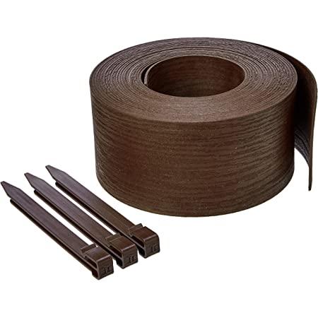 Amazon Basics Bobine de bordure avec piquets, 13 cm